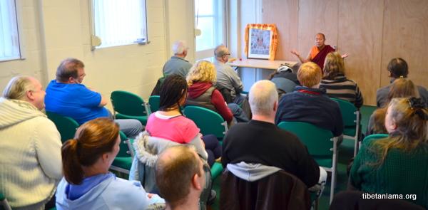 Public Teaching of Dharma at Birkenhead