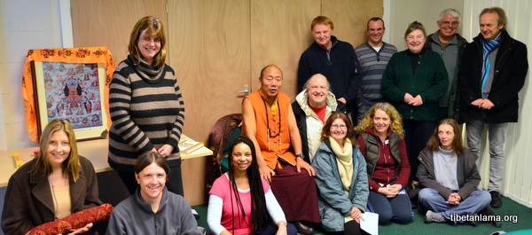 A Few of those Attending our First Dharma Meeting