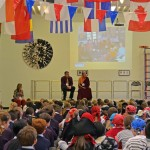 Tibetan Lama Visiting Sudley Junior School