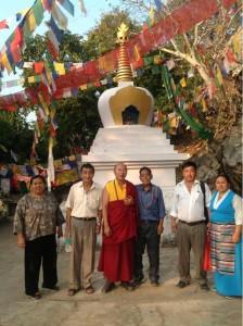 Tibetan People Dharma friends